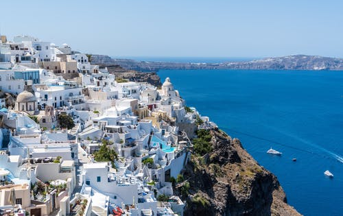 belle vue en grece