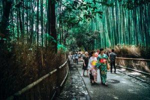 balade parc au japon