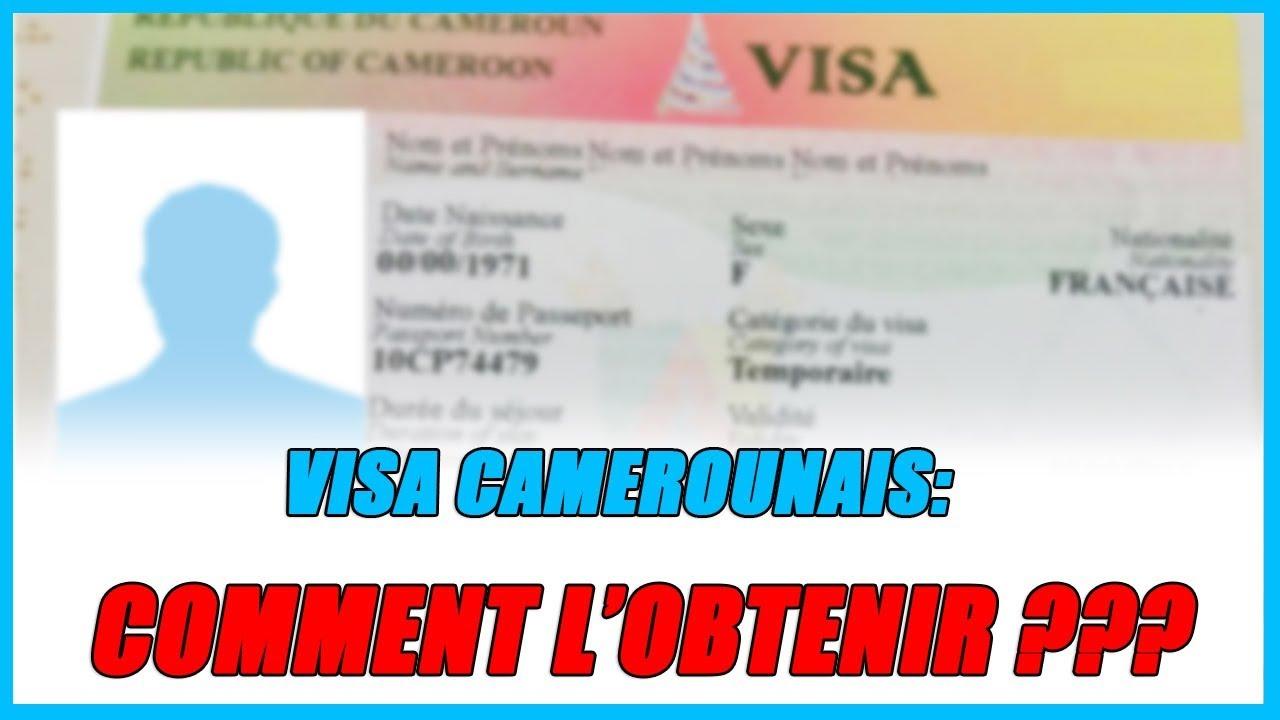 visa touristique Cameroun